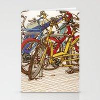 Bike Mess Stationery Cards