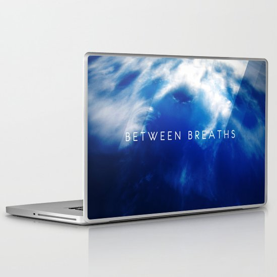 Between Breaths Laptop & iPad Skin