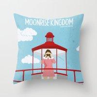 Moonrise Kingdom-2 Throw Pillow