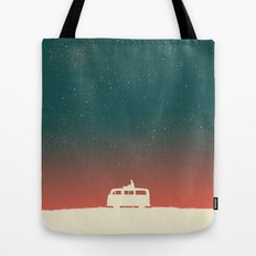 Quiet Night - starry sky Tote Bag