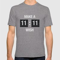11:11 Mens Fitted Tee Tri-Grey SMALL