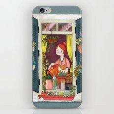 Urban gardening iPhone & iPod Skin