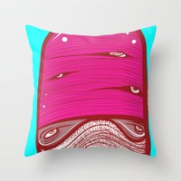 Moote Throw Pillow