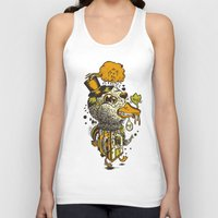 A Disorientated Duck Goes For A Stroll Unisex Tank Top