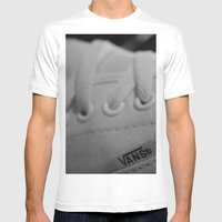 Vans Mens Fitted Tee White SMALL