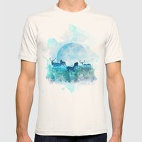 Twilight Mens Fitted Tee Natural SMALL