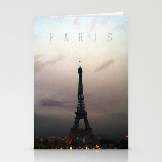 Paris Stationery Card