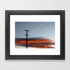 sky ii Framed Art Print