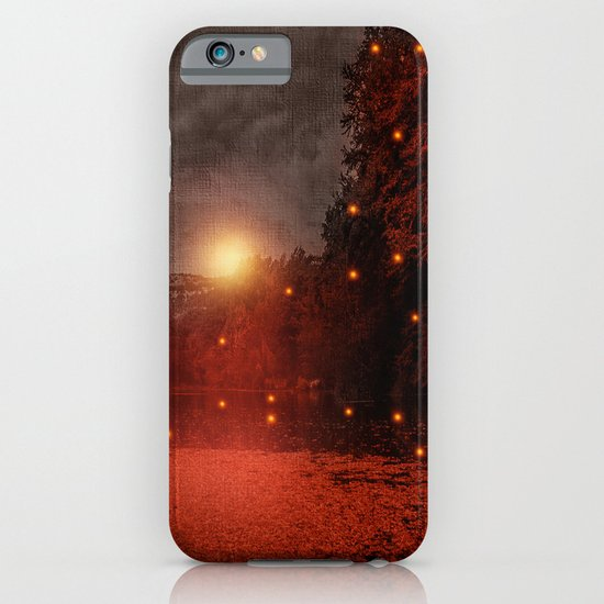 when the light speaks - HOLIDAZE iPhone & iPod Case