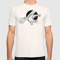 Hawk Mens Fitted Tee Natural SMALL