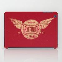 Vintage Gryffindor Quidd… iPad Case