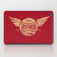 Vintage Gryffindor Quidditch Team iPad Case