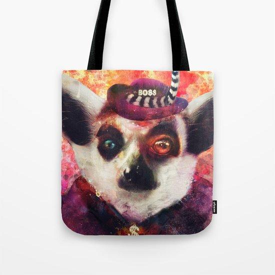 Lemur ( The Pimp Le-Mur ) Tote Bag