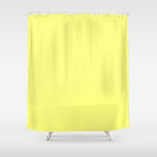 Yellow Shower Curtain By Beautiful Homes