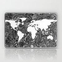 World Inverted Laptop & iPad Skin