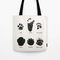 Animal Track Tote Bag