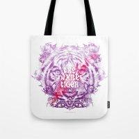 The White Tiger (Savage … Tote Bag