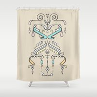 TIOH ONE Shower Curtain