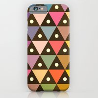 Cosmic Triangles iPhone 6 Slim Case