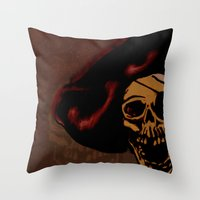 One eyed Willy Throw Pillow