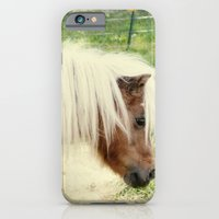 iPhone & iPod Case featuring Pony by angela haugland
