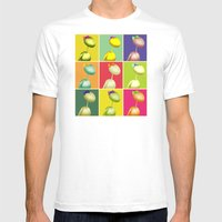 Warhol's AntWoman Mens Fitted Tee White SMALL