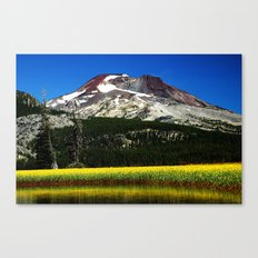 South Sister Mountain, Central Oregon Canvas Print