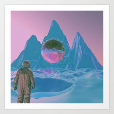 SOMEWHERE ELSE Art Print