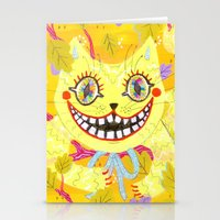 Cheshire Cat Stationery Cards