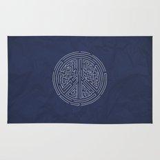 Peace Maze Rug