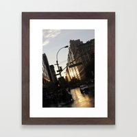 New York City Union Square NYC Framed Art Print