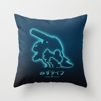 Mega Water Throw Pillow