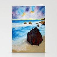 Serenity Rock Stationery Cards