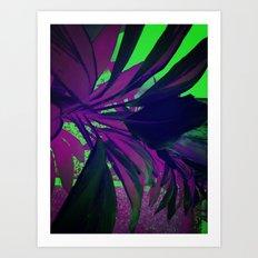 Behind the foliage Art Print