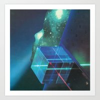 Gleaming The Cube Art Print