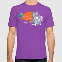 BB-Gir Mens Fitted Tee Ultraviolet SMALL