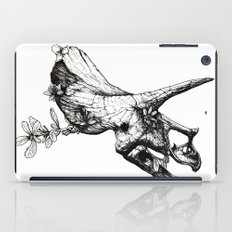 Jurassic Bloom - The Horned. iPad Case