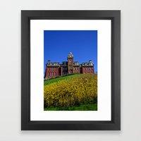 West Virginia University Framed Art Print