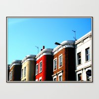 Lavender Hill Canvas Print