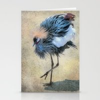 The Dancing Crane Stationery Cards