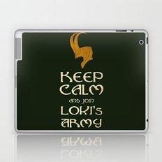 Keep Calm And Join Lokis Army Laptop & iPad Skin
