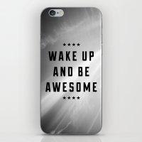 Be Awesome II iPhone & iPod Skin