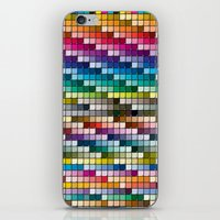 Color Chart iPhone & iPod Skin