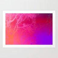 The Love Of Trees. Art Print