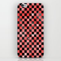 Black & Red iPhone & iPod Skin
