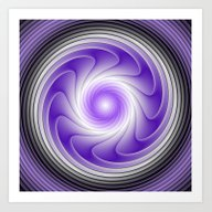 The Power Of Purple Digi… Art Print