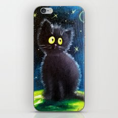 Once Upon A Black Cat iPhone & iPod Skin