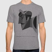 Maino Mens Fitted Tee Athletic Grey SMALL
