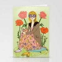 Spring Fashion Stationery Cards