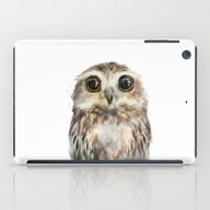 iPad Case featuring Little Owl by Amy Hamilton